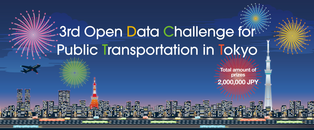 2nd Open Data Challenge for Public Transportation in Tokyo